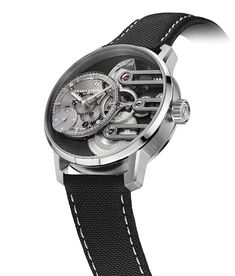 Armin Strom - Gravity Equal Force Ultimate Sapphire | Time and Watches | The watch blog Watch Blog, Dress Watches, Elegant Watches, Armin, Equality, Sapphire, Leather, Accessories, Social Equality