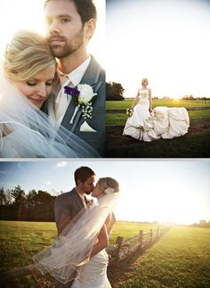 That is a LOT of dress! Another rural inspired wedding though, I'm eating up the blog from http://dwjohnsonstudio.com