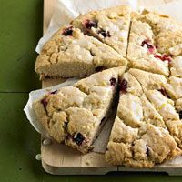These Cranberry-Lemon Scones would be perfect for a potluck or as a Monday morning surprise treat! *CC