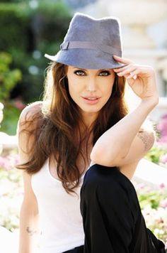 Angelina Jolie. I think she is so brave.