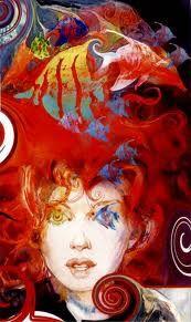 "The Sandman by Neil Gaiman; ""Delirium"" by Bill Sienkiewicz. Neil Gaiman, Comic Books Art, Comic Art, Illustrations, Illustration Art, Nocturne, Vertigo Comics, Endless Night, Art Graphique"