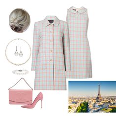 Fashion set Queen Rose at the UN Climate Conference in Paris created via