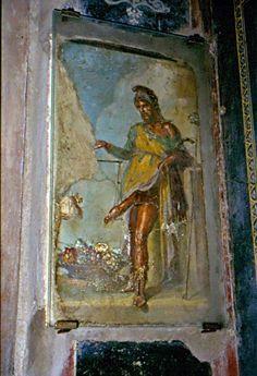 Foto di viaggio: I viaggi di Gigi: POMPEI - Terza parte - Dalla Casa del Fauno al Castellum Acquae - POMPEI: Casa dei Vettii (Priapo)