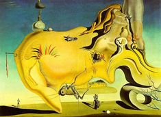 Salvador Dali The Great Masturbator Giclee Art Paper Print Poster Reproduction