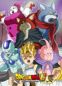 Dragon Ball Super - Universe Survival Saga 5 by Cheetah-King
