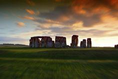 Stonehenge, England.  Time by Francesco Alamia