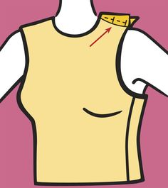 Armhole and bodice alterations from Threads Magazine