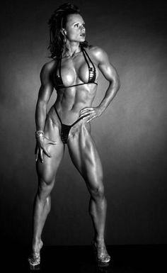girlsnfitness: Loving Strong Girls in Their Hot Fitness Style