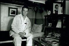 Renton in his cell, Walls Unit, Huntsville, Texas, 1968