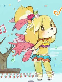 Animal Crossing Artwork (Isabelle)