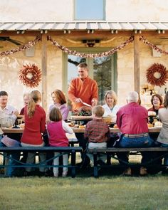 A Hill Country Thanksgiving - (Thanksgiving Menus, holiday recipes, appetizers, main course, side dishes, beverage and desserts)