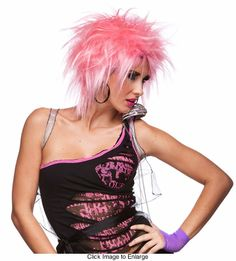 Punky Wig in Pink Haze for $19.00
