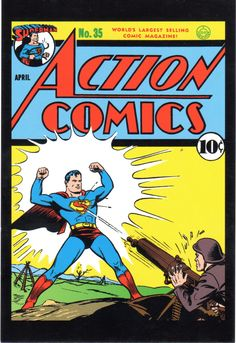Early issue of ACTION COMICS
