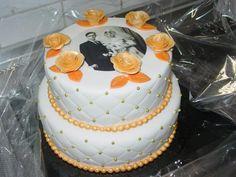 50 th Aniversary wedding cake