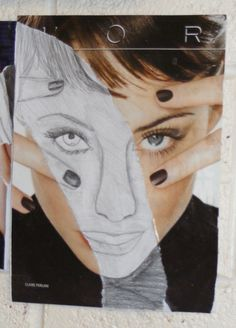 Megs and Maddie - here's something fun to try in your journal. Get a picture of a face from a magazine - should be almost big enough to fill your journal page. Glue it to the page. Rip out the center of the picture, and then complete the picture with a pencil drawing. Let's see what you can do!