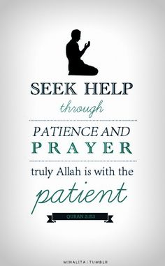 http://www.dawntravels.com/umrah.htm. A believer always solves all his problems through these two things.