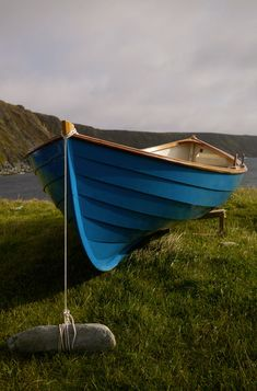 A beautiful light able sea boat to keep beside your croft.