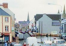 Omagh - Wikipedia, the free encyclopedia Gone Days, Northern Ireland, Old Pictures, Street View, Iron, Antique Photos, Old Photos, Northern Ireland County, Irons