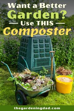 Do You Want a Better Garden this Year?  Then Use THIS Composter!  Learn what the best compost bins are for you garden needs! #compost #composter #DIY Best Compost Bin, Homemade Toys, Homemade Crafts, Growing Seeds, Raising Chickens, Growing Flowers, Home Made Soap, Growing Vegetables