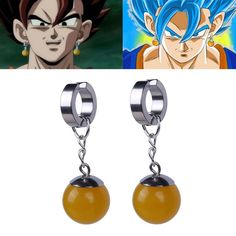 dragon ball Sasuke cute earring ear stud earrings 2pcs earrings new