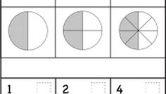 Equivalent Fractions - Two Worksheets