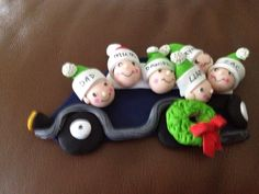 chrsistmas ideas with fimo | Made this out of fimo. Christmas decoration. | Craft Ideas