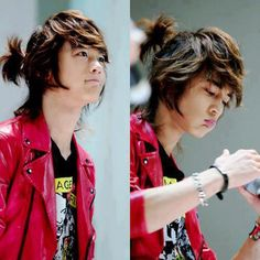 I know all you shawols miss Minho's old look with his cute pony tail keke come on admit it guys~