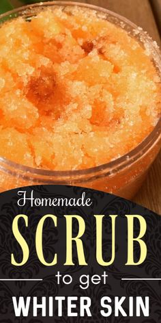 Natural Homemade Hands And Foot Exfoliating Scrub For Whiter And Softer Skin Diy Face Scrub, Diy Scrub, Skin So Soft, Smooth Skin, Exfoliating Scrub, Exfoliating Products, Whitening Cream For Face, Cleanser For Oily Skin, Homemade Scrub