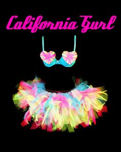 hand made katy perry inspired corset costume summer spring neon tutu rave outfit edm edc fancy dress love heart bra festival fun made by myself www.tutufactory.co.uk