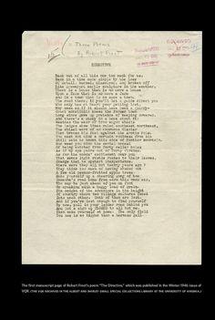 VQR » Robert Frost and the Modern Narrative