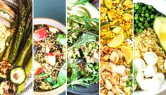 This week we're cooking up grain bowls! Check out these five recipes for a healthy, satisfying dinner. | Be Well Philly