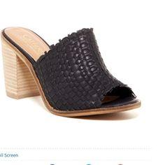 Nwt Catherine Malandrino heels no trades No flaws new black leather 3 1/2 inch heels please use offer button Catherine Malandrino Shoes Heels