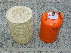 Artesanía y tradición trabajando la palma morisca: Cubre bombonas de empleita