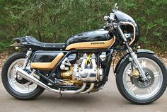 Honda Goldwing GL1000 1976 conversion to Cafe racer.