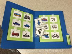 The Autism Adventures of Room Matching File Folder Tasks Lesson Plan Templates, Lesson Plans, Folder Holder, File Folder Activities, Work Task, Task Boxes, Classroom Setup, Special Education, School