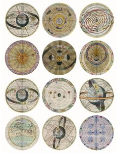 Antique Celestial circles