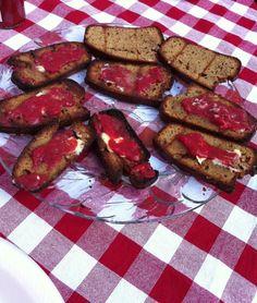 Homemade Grain Free Toast & Homemade Jam (No Almond Flour)