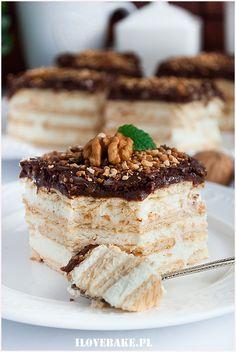 Polish Desserts, Polish Recipes, Polish Food, Sweets Cake, Sweet Desserts, Chocolate Desserts, Food Inspiration, Baked Goods, Mousse
