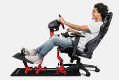Gamer Chair, Car App, Cool Toys For Boys, A Gear, Racing Simulator, Support Pillows, Ergonomic Chair, No Equipment Workout, Fitness Equipment