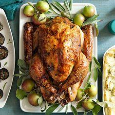 Cider-Glazed Turkey #turkeydinner #thanksgiving