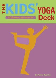 Yoga is fun! Get kids bending, breathing, and stretching with The Kids Yoga Deck.