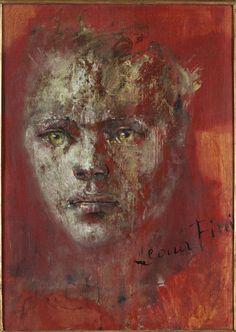 Leonor Fini - Portrait de Femme – huile sur panneau – 1944 – 50 x 67 cm – collection privée