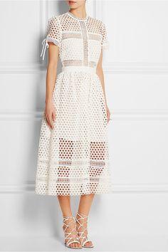 Top 5 des robes de mariage de moins de 1000 $ |  Self-Portrait robe en dentelle macramé