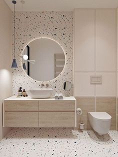 Beautiful Bathroom Inspiration Ideas You Have to Try Right NowYou can find Bathroom interior and more on our website.Beautiful Bathroom Inspiration Ideas You Have to Tr. Modern Bathroom Design, Bathroom Interior Design, Minimal Bathroom, Mid Century Modern Bathroom, Luxury Bedroom Design, Best Bathroom Designs, Scandinavian Interior Design, Interior Livingroom, Kitchen Interior