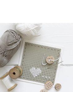cross stitch card - idea by ariadne at home