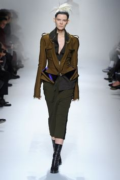 Haider Ackermann RTW Fall 2013, #24 / I love these jackets