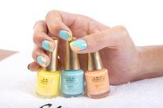 Propuesta manicura con las lacas Cocktail Nails para este verano #cazcarra #TENIMAGE #nails #manicura