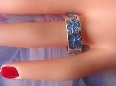 Hey, I found this really awesome Etsy listing at https://www.etsy.com/listing/69326486/vintage-silver-embossed-ring-size-8-r