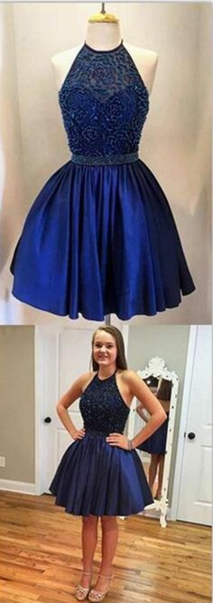 2016 homecoming dresses,homecoming dresses,short prom dresses,halter homecoming dresses,royal blue homecoming dresses,junior homecoming dresses