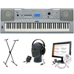 Yamaha DGX-230 76-key Keyboard Bundle